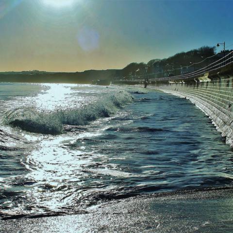 Filey seawall - Ian Nisbet